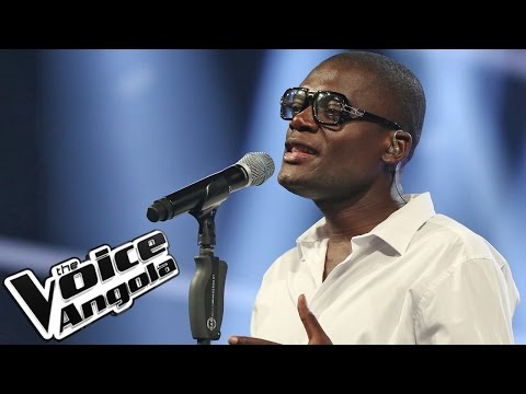"Alfredo Yungi interpreta ""It's a Man's World"" / The Voice Angola 2015 / Show ao Vivo 4"