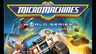 PROBANDO MICRO MACHINES WORLD SERIES