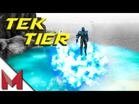 ARK TEK TIER GAMEPLAY, ARMOR, WEAPONS & MORE! -=- ARK: SURVIVAL EVOLVED -=- S4E44