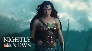 'Wonder Woman' Sets Record, Shatters A Hollywood Glass Ceiling | NBC Nightly News