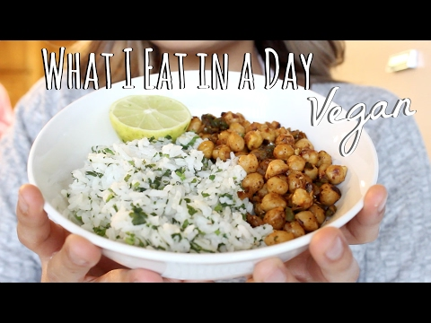 WHAT I EAT IN A DAY || Healthy Vegan Food