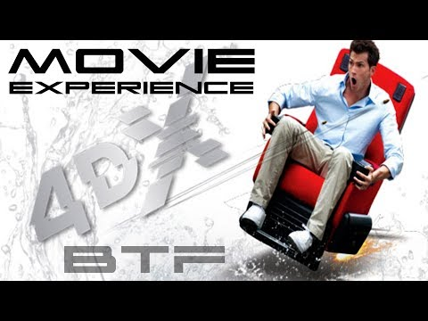 4DX Movie Theater Experience