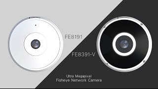 VIVOTEK Ultra-Megapixel Fisheye Network Cameras FE8191/FE8391-V