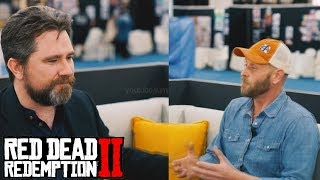 Arthur Morgan + John Marston & More Interview (RDR2)   Leaked Deleted Content