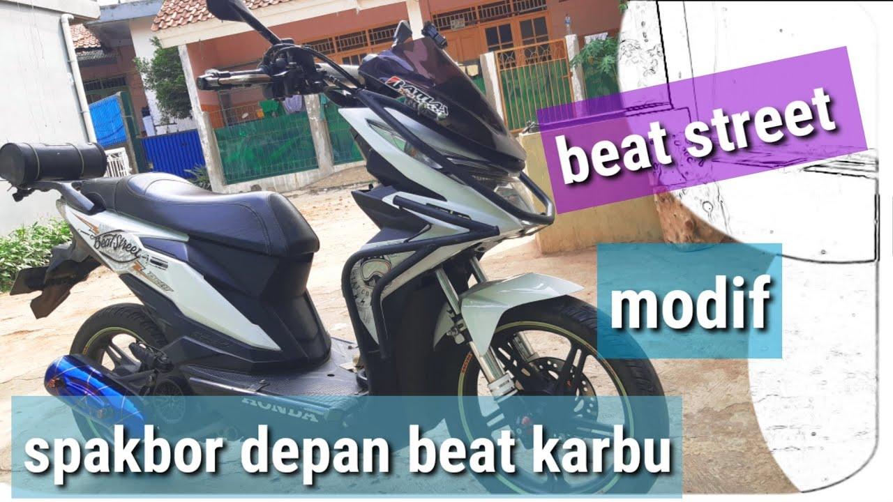 Modifikasi Beat Street Super Moto Youtube