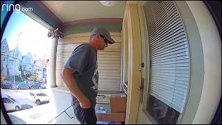 Grinch! Man caught on camera stealing boxes from San Francisco home