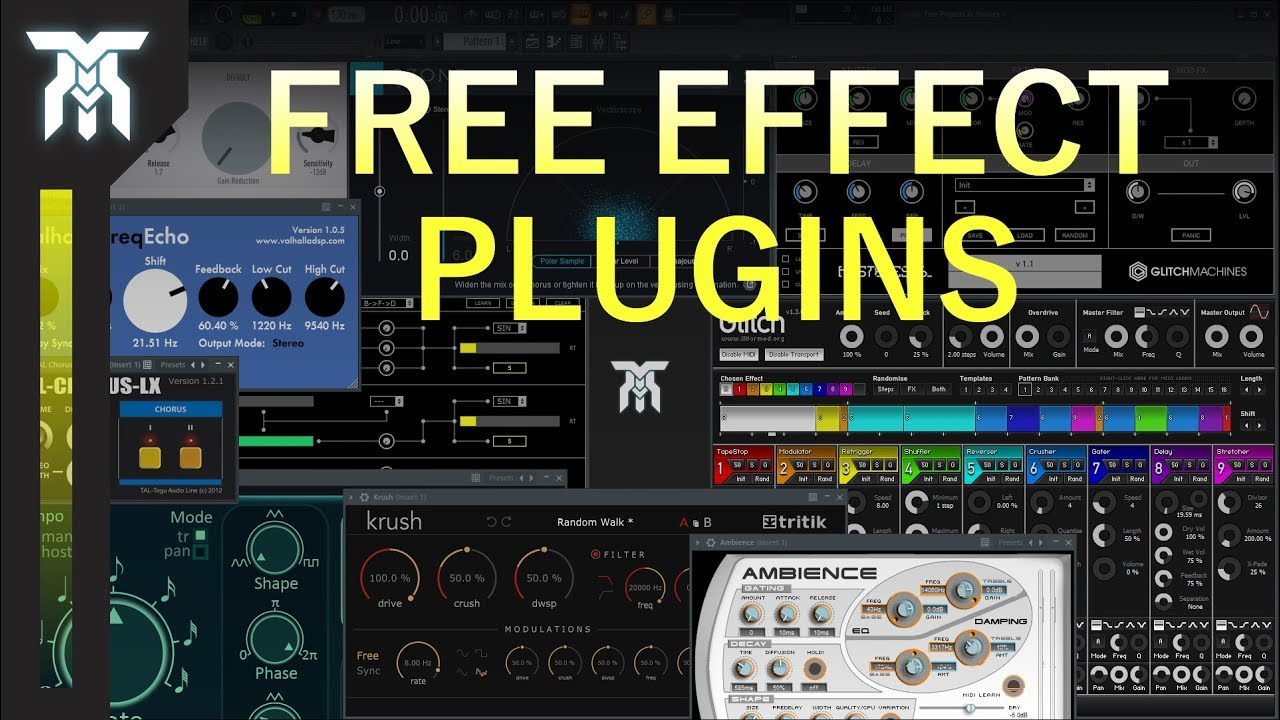 Top 10 FREE VST Effects Plugins (2018)