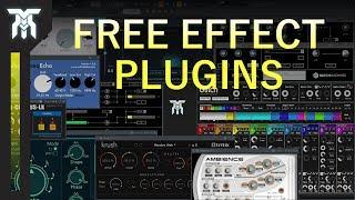 Top 10 FREE VST Effects Plugins (2018)
