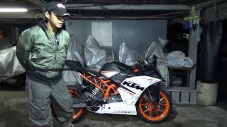 KTM:RC390参考動画:バイクを選ぶ根拠は「見た目」でOK!