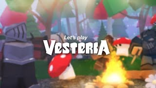 Vesteria Beta Roblox | Episode 1 | The journey of an amazing game begins
