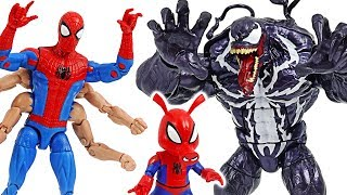 Marvel Six-Arm Spider-Man VS Monster combine Venom! #DuDuPopTOY