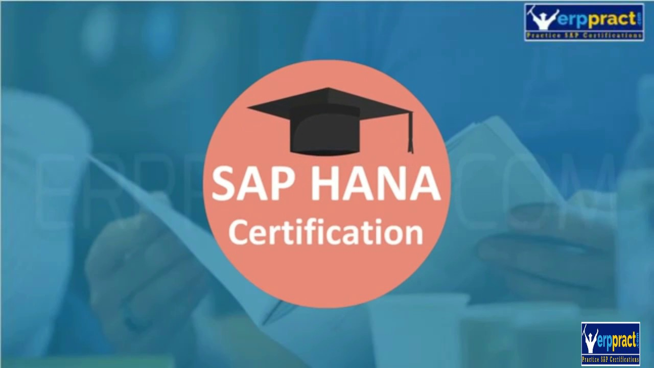 Sap Hana Certification Exam Youtube