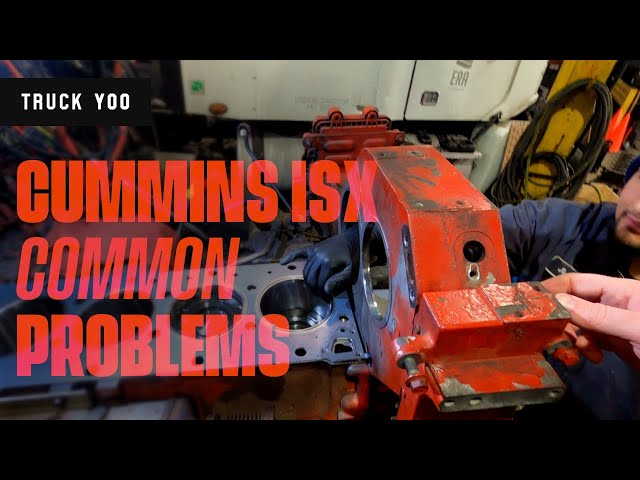 Cummins ISX Common Problems. Watch before you buy. Podcast episode 52