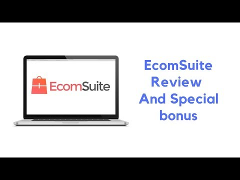 EcomSuite Review And OTO