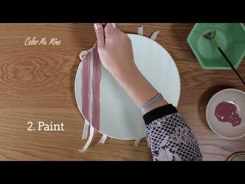 Color Me Mine Tape Technique