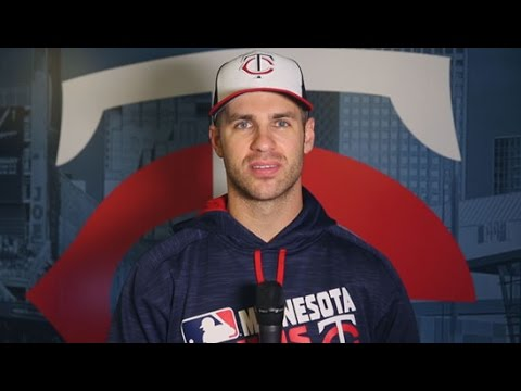 Joe Mauer Shares His Game Face for Gillette Kids