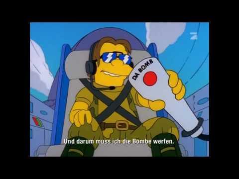 [HD] The Simpsons - Drop the Bomb (YVAN EHT NIOJ)