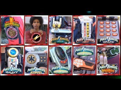 Forever Red Team Morph - 10 Rangers (Mighty Morphin Power Rangers - Wild Force) *Golden Era Tribute*