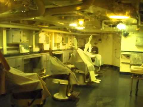 USS North Carolina Battleship Wilmington NC  (Full-Version) video/picture tour