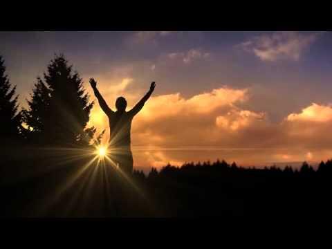 Silhouette Sunrise Worship Motion Background Youtube