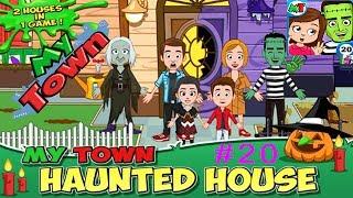 Мой Город - My town - #20 Заколдованный Дом - Haunted House (2 часть) Симулятор Семьи Детское видео