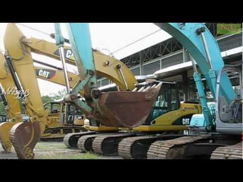 Kobelco SK200 Excavator Hydraulic Pump in Trouble - YouTube on