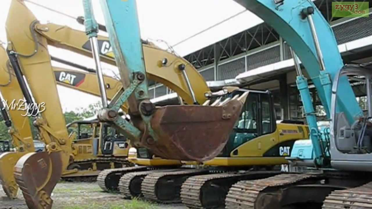 kobelco sk200 excavator hydraulic pump in trouble [ 1280 x 720 Pixel ]