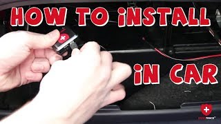 GPS Tracker for car Installation (How to). No monthly fee!