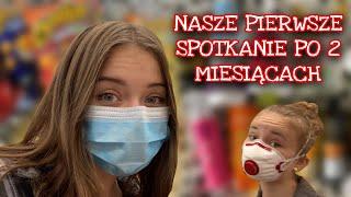 VLOG/ SPOTKAŁYŚMY SIĘ PO 2 MIESIĄCACH NIEWIDZENIA SIĘ!!!!
