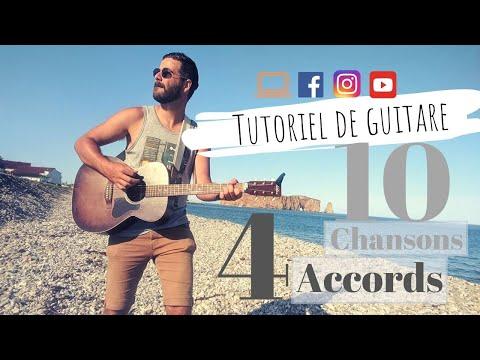 Apprenez 4 Accords, Jouez 10 Chansons Québécoises -  Cours Pour DÉBUTANT