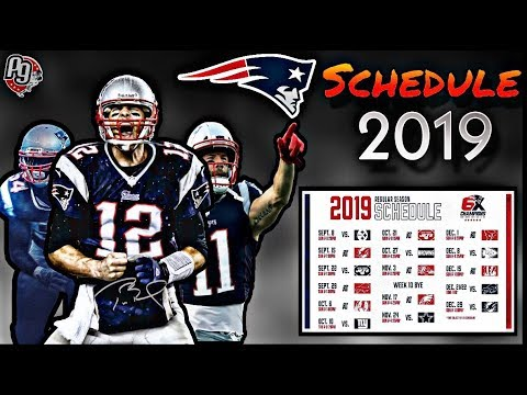 New England Patriots Schedule 2020.Patriots 2019 Schedule Breakdown
