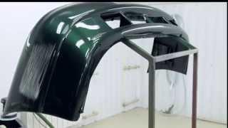 Ремонт и окраска бампера материалами Reoflex