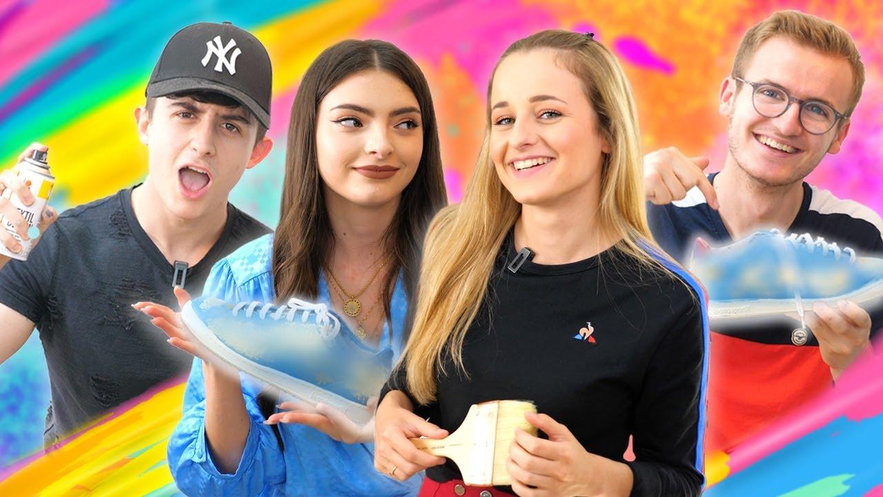 Battle de Sneakers : Qui fera le plus beau Custom ?