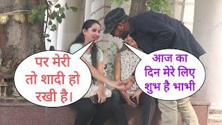 Aaj Ka Din Mera Shub Hai Bhabhi Ji Prank On Cute Bhabhi With Her Friend By Desi Boy With New Twist