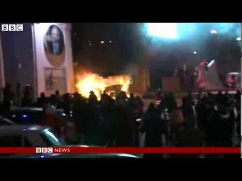 BBC News   Ukraine protests  Clashes as thousands defy protest law in Kiev