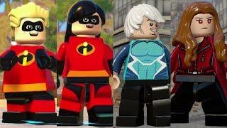 Dash & Violet Vs. Quicksilver & Scarlet Witch in LEGO Videogames