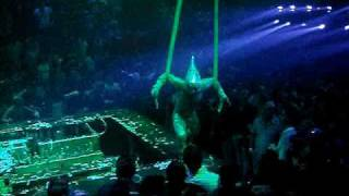 Coco Bongo Night Club - Playa Del Carmen - Spiderman vs. Green Goblin
