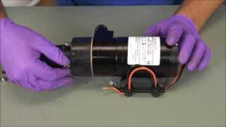 Jabsco 18590 Series Macerator Service Kit Installation