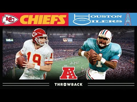 Iconic Era Ends! (Chiefs Vs. Oilers 1993 AFC Divisional)