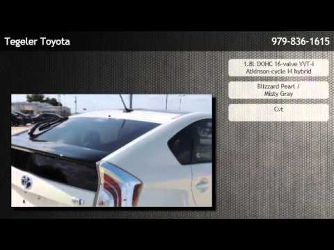 2013 Toyota Prius Hatchback Three Houston Youtube