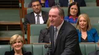 """Barnaby Joyce - """"I heard a rumour"""""""