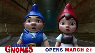 The gnomes are missing! There's only one gnome for the job. #SherlockGnomes