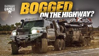 The MUDDY Road to the Dinghy Derby, 6x6 LC79 Landcruiser BOGGED On The Highway • Season 2