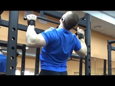 Подтягивания- лучшее упражнение для мышечной базы