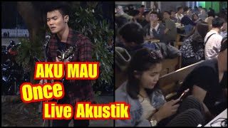 Download lagu AKU MAU ONCE LIVE AKUSTIK TRI SUAKA | MUSISI JOGJA PROJECT - PENDOPO LAWAS