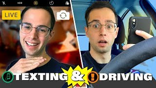 The Try Guys Test Texting While Driving