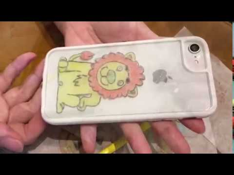 Triwoodtech  DIY Graffiti Mobile Case shows personality and creativity