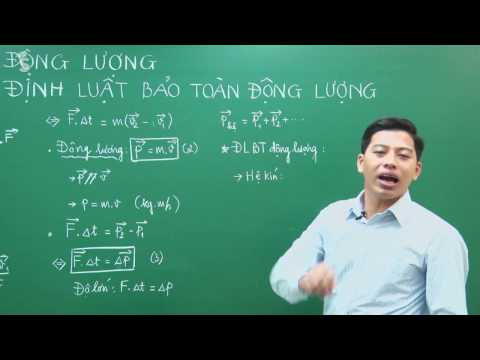 Động lượng và Định luật bảo toàn Động lượng - Vật lý 10 - Thầy Phạm Quốc Toản
