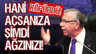"""MANSUR YAVAŞ BAĞIRA ÇAĞIRA HESAP SORDU! """"HANİ"""
