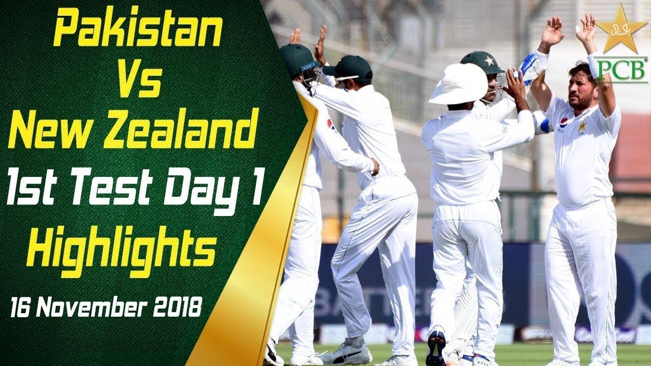 pakistan-vs-new-zealand-highlights-2nd-test-day-1-24-november-2018-pcb